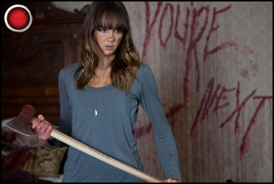 You're Next red light Sharni Vinson