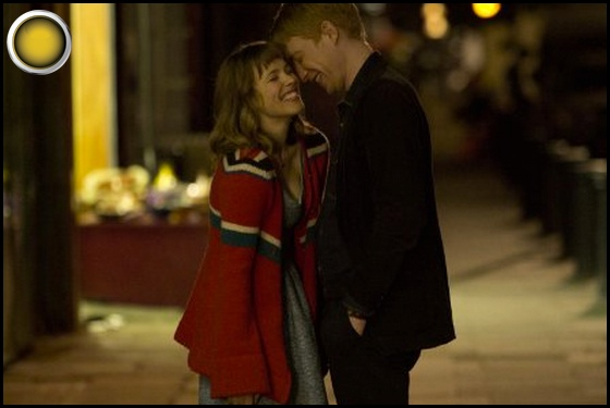 About Time yellow light Rachel McAdams Domhnall Gleeson