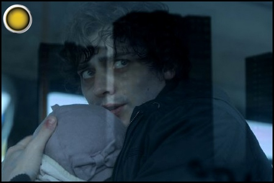 Citadel yellow light Aneurin Barnard