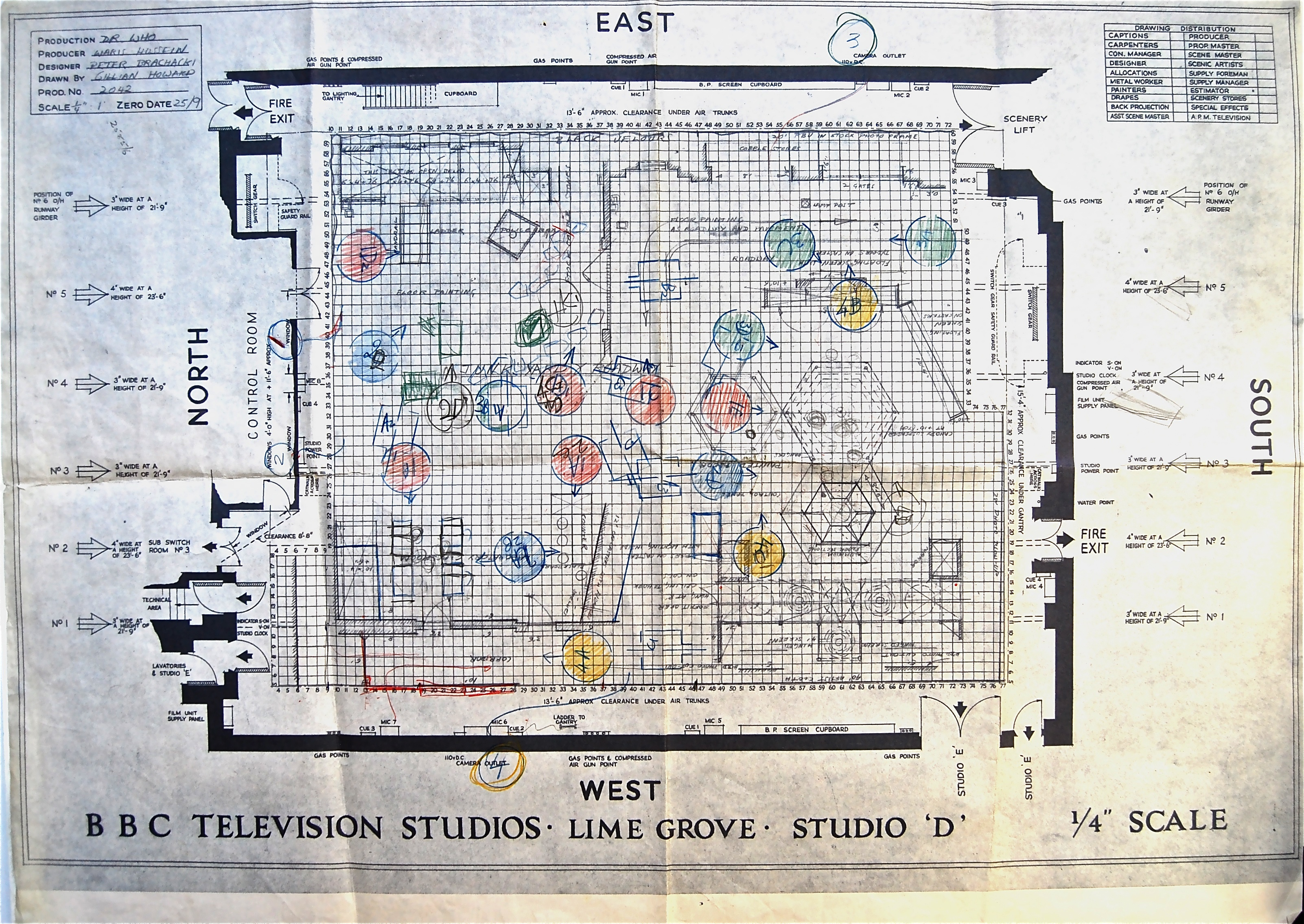Doctor Who Thing Original Tardis Blueprints Uncovered
