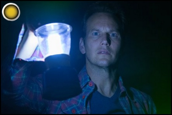 Insidious yellow light Patrick Wilson