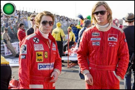 Rush green light Daniel Bruhl Chris Hemsworth