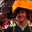 London photo of the day: British cheesehead