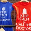 Doctor Who thing: merch at New York Comic-Con
