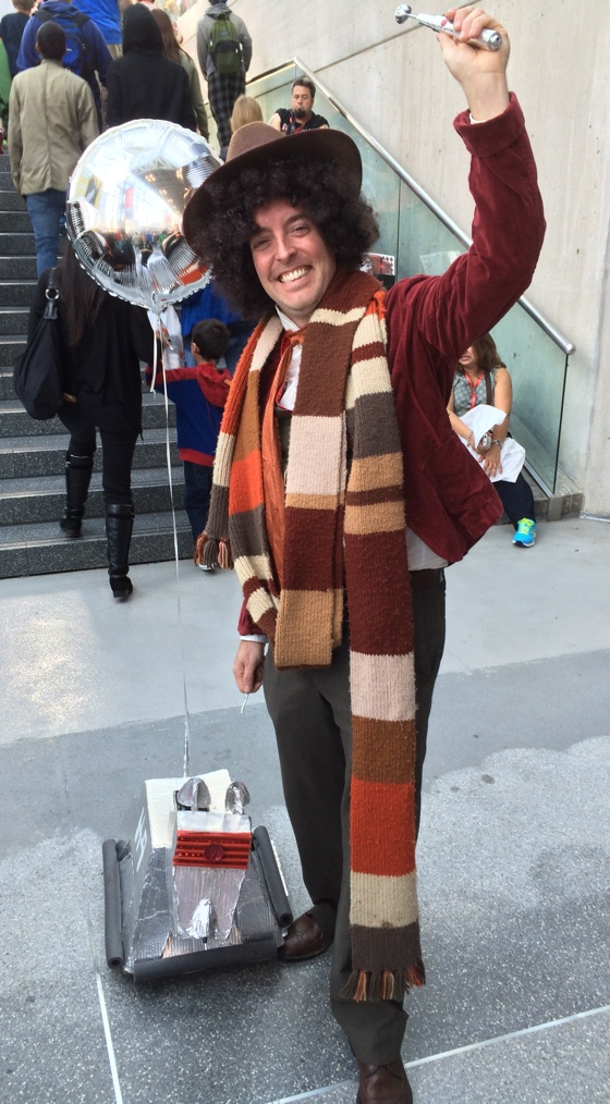 Doctor Who thing: creative cosplay | FlickFilosopher.com