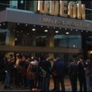 London photo of the day: the LFF press assembles…