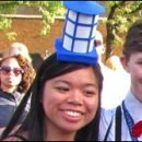 Doctor Who thing: dressing up as the TARDIS