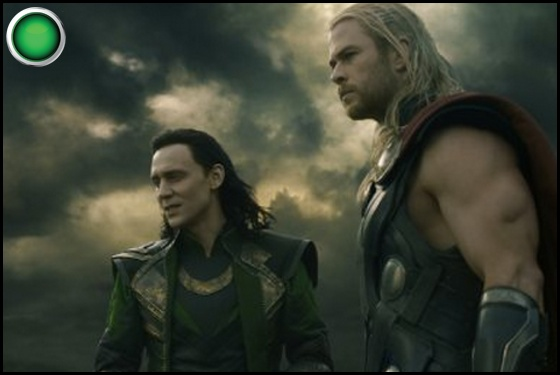 Thor The Dark World green light Tom Hiddleston Chris Hemsworth