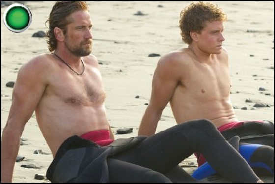 Chasing Mavericks green light Gerard Butler Jonny Weston