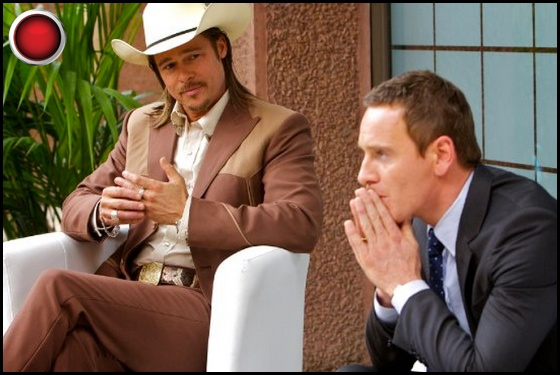 The Counselor red light Brad Pitt Michael Fassbender