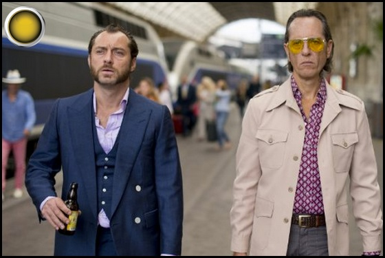 Dom Hemingway yellow light Jude Law Richard E Grant
