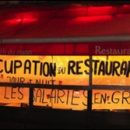 Paris photo of the day: occupation du restaurant