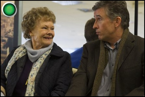Philomena green light Judi Dench Steve Coogan