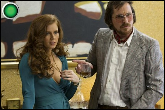 American Hustle green light Amy Adams Christian Bale