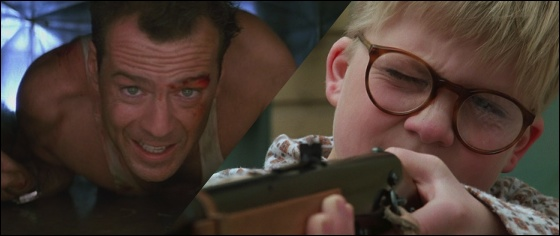 Die Hard Bruce Willis Christmas Story Peter Billingsley