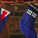 Doctor Who thing: Christmas stockings fit for a Time Lord