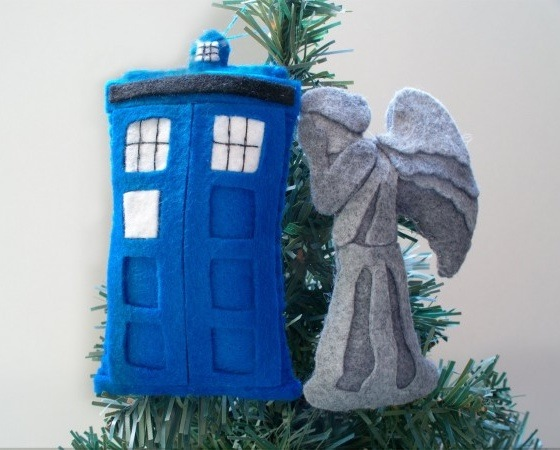 Doctor Who Thing: Weeping Angel Christmas Tree Topper
