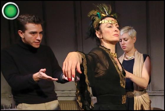 Cleopatra green light Jordan Mallory-Skinner Shelley Lang Marianne Chase