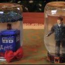 Doctor Who thing: make your own TARDIS snowglobe