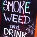 Amsterdam photo of the day: smoke weed and drink