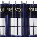 Doctor Who thing: TARDIS up your bathroom