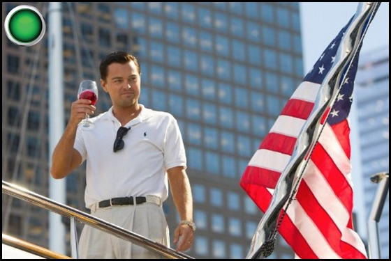 The Wolf of Wall Street green light Leonardo DiCaprio