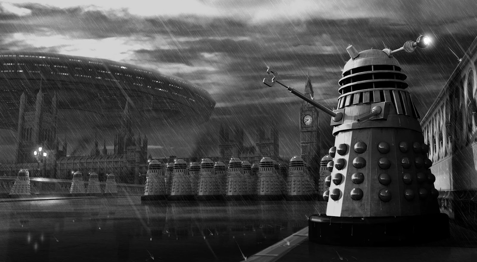 Doctor Who Thing Magnificent Concept Art That We Never