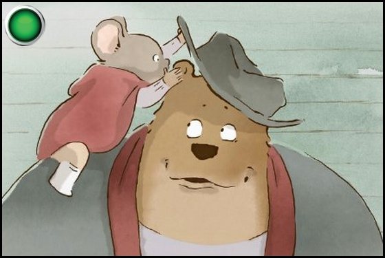 Ernest and Celestine green light