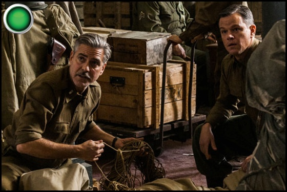 The Monuments Men green light George Clooney Matt Damon