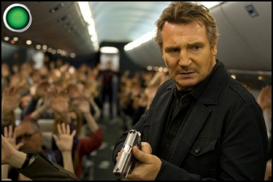 Non-Stop green light Liam Neeson