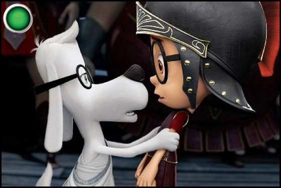 Mr. Peabody and Sherman green light