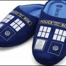 Doctor Who thing: the wide world of Doctor Who slippers