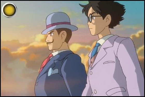 The Wind Rises yellow light