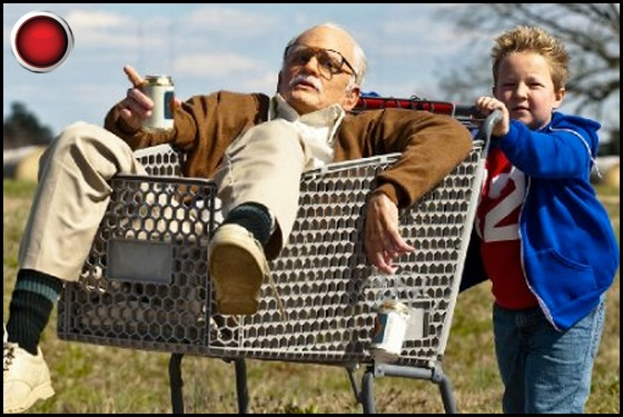 Jackass Presents: Bad Grandpa red light Johnny Knoxville Jackson Nicoll