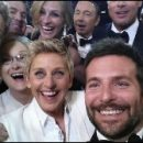 the best selfie ever: Ellen DeGeneres and Bradley Cooper (and celebrity photobombers) at the Oscars