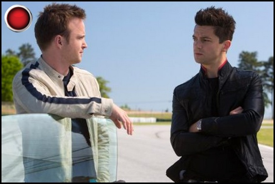 Need for Speed red light Aaron Paul Dominic Cooper