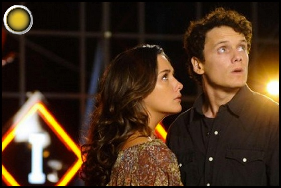 Odd Thomas yellow light Addison Timlin Anton Yelchin