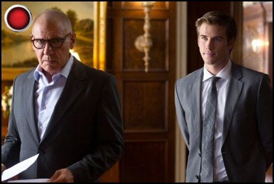 Paranoia red light Harrison Ford Liam Hemsworth