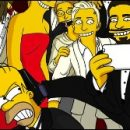 Homer Simpson reveals the truth about the famous Oscars selfie