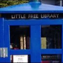Doctor Who thing: another TARDIS little free library