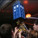 Doctor Who thing: TARDIS pinata for a kiddie party (or a grownup one)