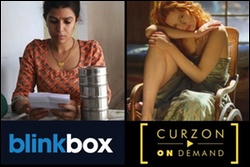 what's on Amazon UK Instant Video, blinkbox, Curzon on Demand (from Apr 14)