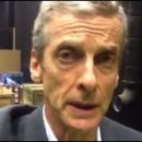 Peter Capaldi sends words of encouragement to the Glasgow School of Art