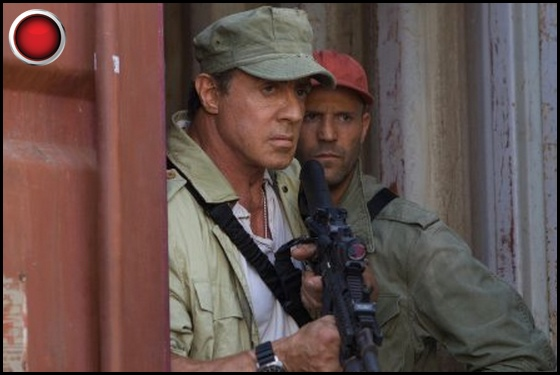 The Expendables 3 red light