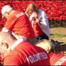 London photo: planting poppies at the Tower of London