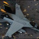 London photo: tiny jet fighter…
