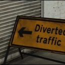 "London photo: ""Diverted traffic"""