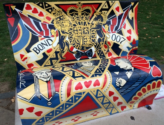 jamesbondbookbench1