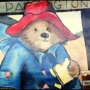 London photos: Michael Bond's Paddington Bear book bench