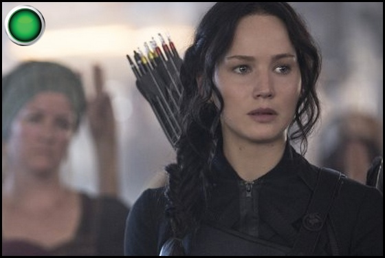 The Hunger Games Mockingjay Part 1 green light